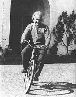 Einstein na Bicicleta