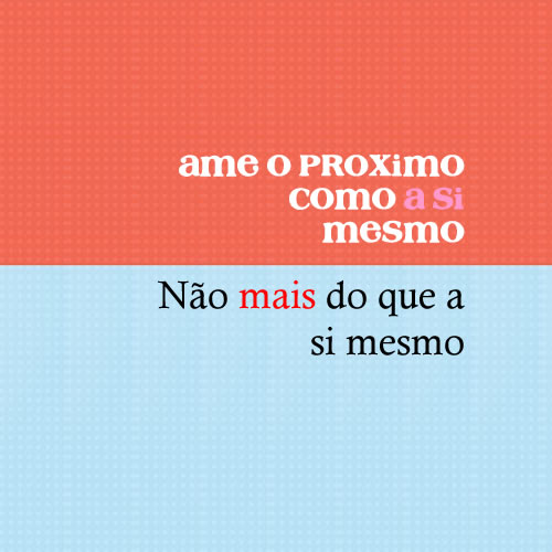 Amar a si mesmo frase Blog EuGordinha