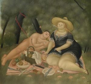Botero, Fernando - Dejeuner Sur L'Herbe, 1969 EuGordinha