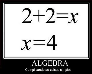 Algebra humor EuGordinha