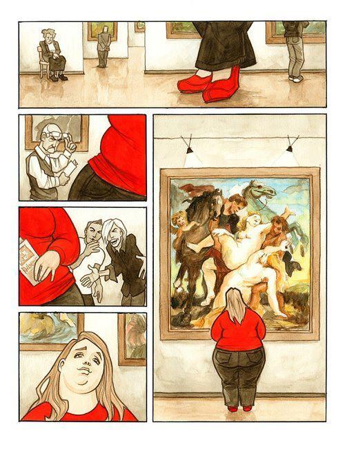 """""""Século errado"""" - ilustração brilhante pelo artista Tomas Kucerovsky."""