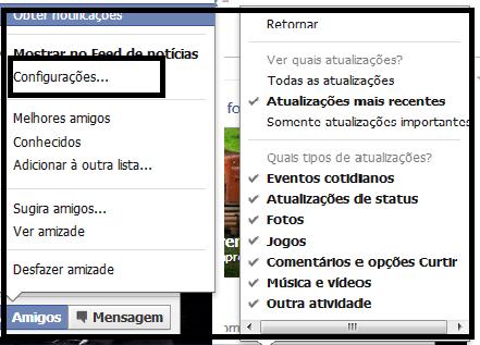 Bloqueando Amigos Chatos no Facebook - EuGordinha