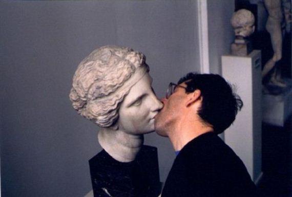 Beijo na Estátua