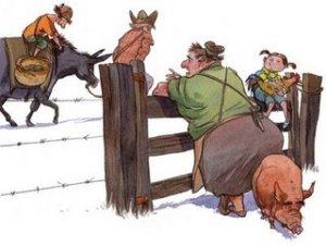 O velho o burro e o menino - EuGordinha