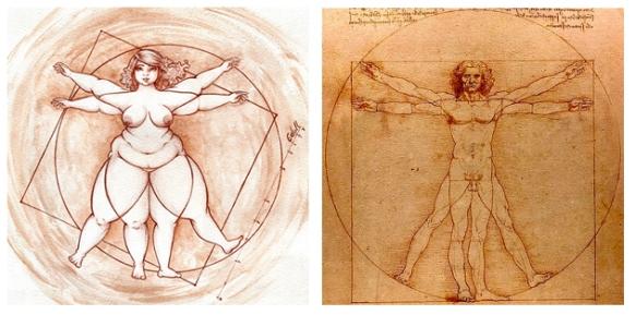 Figuras Vitruvianas - EuGordinha